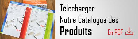 Télécharger le Catalogue des Produits en PDF